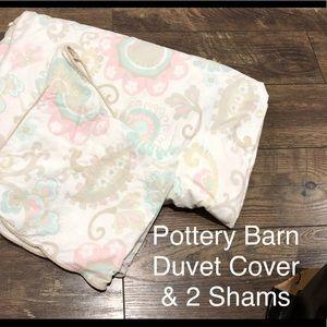Pottery Barn Kids Duvet & Shams